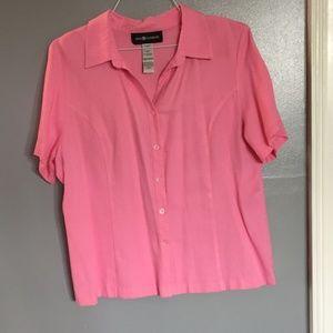 Pink Soft Button Down Shirt